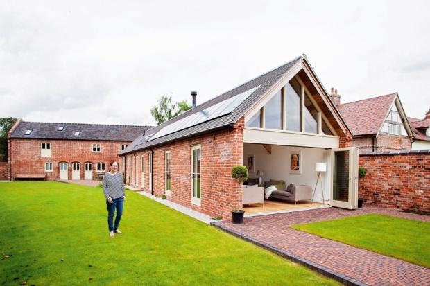 Glancy Barns exterior & owner