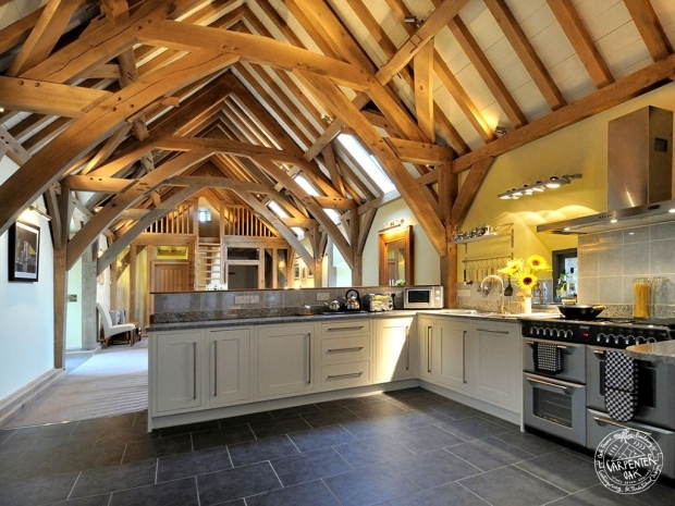kitchen-dining-room-view-completed-interior-roof-truss-casestudy-green-oak-framed-barn-conversion-devon-03-11-2013-CREDIT